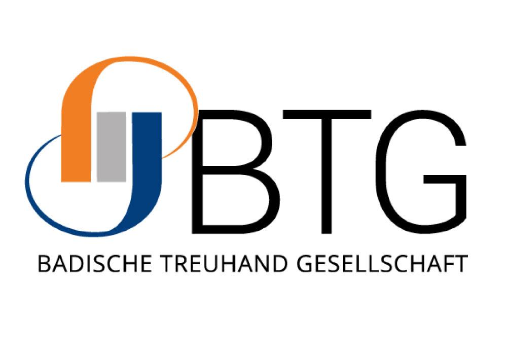 Logo: BTG Badische Treuhand Gesellschaft mbH, Steuerkanzlei Lahr